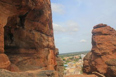 Badami Cave temples, Karnataka, India Royalty Free Stock Image