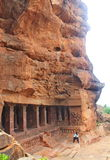 Badami Caves, Karnataka, India Stock Photos