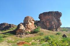 Badami rocks Stock Image