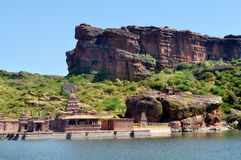 Badami rocks Royalty Free Stock Images