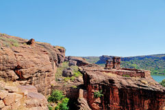 Badami rocks Stock Photo
