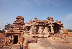Badami temple, a Unesco heritage site Royalty Free Stock Photos