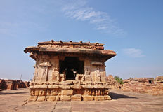 Badami temple, a Unesco heritage site Stock Photos
