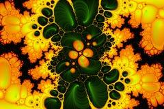 badania kwasu żółty Zdjęcie Royalty Free