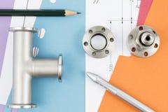 Badanie i rozwój proces w inżynierii Zdjęcie Royalty Free