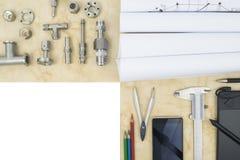 Badanie i rozwój proces w inżynierii i nauce Fotografia Royalty Free