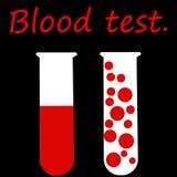 Badanie Krwi ilustracja wektor