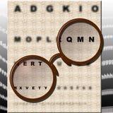 badanie oko Obrazy Stock