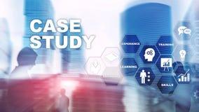 Badanie Przypadk?w Biznesu, interneta i tehcnology poj?cie, zdjęcie stock