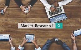 Badanie Rynku analizy Biznesowego konsumenta pojęcie fotografia royalty free