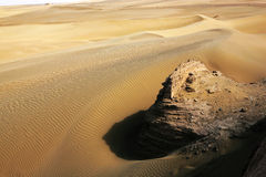 badanjilin pustyni Zdjęcie Royalty Free