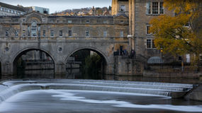 Badbrug Royalty-vrije Stock Foto
