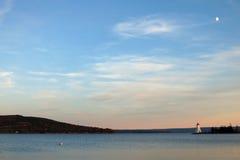 Baddeck Nova Scotia Lighthouse stockbilder