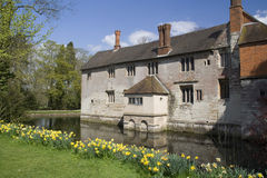 Baddesley Clinton house Royalty Free Stock Photo