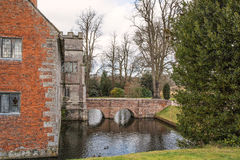 Baddesley Clinton Manor House Royaltyfria Foton