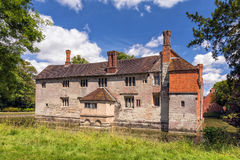 Baddesley Clinton Manor House Royaltyfri Fotografi