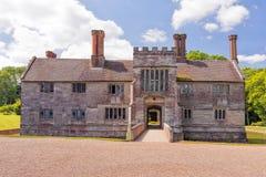 Baddesley Clinton Manor House Lizenzfreie Stockbilder