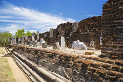Baddhasima Prasada, Polonnaruwa, Sri Lanka Royalty Free Stock Image
