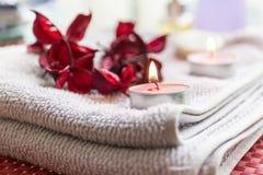 Badekur: bereiten Sie für sich entspannen vor Lizenzfreies Stockbild