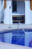Badekurort Stockbild