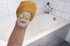 Badekurort-Behandlung Stockbild