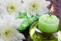 Badekurort-Behandlung Aromatherapy Lizenzfreies Stockfoto