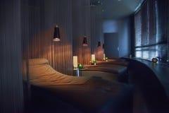 Badekurort entspannen sich Stühle Lizenzfreie Stockbilder