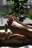 Badekurort-Füße Lizenzfreies Stockfoto