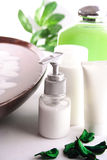 BADEKURORT-Kosmetikserie Lizenzfreie Stockfotografie