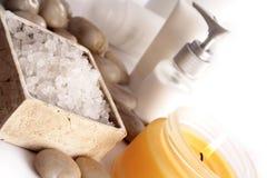 BADEKURORT-Kosmetikserie Lizenzfreie Stockbilder