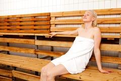 Badekurort-Sauna Stockbild
