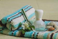Badekurort und Aromatherapie Stockbild