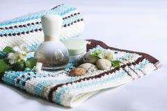 Badekurort und Aromatherapie Lizenzfreies Stockbild
