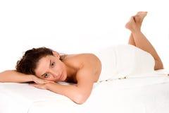 Badekurort und Massage Stockbild