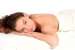 Badekurort und Massage Stockbilder