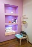 Badekurort- und Massagekosmetik stockbilder