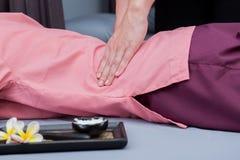 Badekurort und thailändische Massage lizenzfreie stockfotos