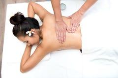 Badekurort und thailändische Massage stockbilder
