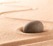 Badekurort Wellness oder Mindfulnessstein- und -sandgarten stockfotos