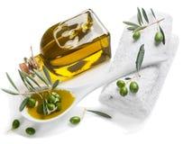 Badekurortelemente von Oliven Lizenzfreie Stockbilder