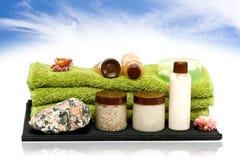 Badekurorthygienehilfsmittel für Badekurort Lizenzfreies Stockfoto