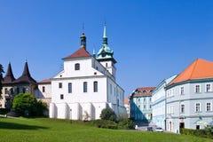 Badekurortstadt Teplice, Böhmen, Tschechische Republik, Europa Stockfotografie
