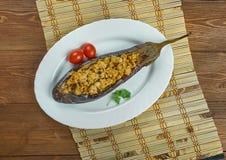 Bademjan Kabab zdjęcie stock
