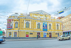 1860 1862 baden大厦被建立的德国剧院岁月 免版税库存图片