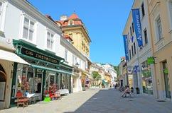 Baden, Österreich stockbild