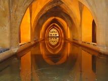 Baden av Maria Luisa i Andalusia fotografering för bildbyråer