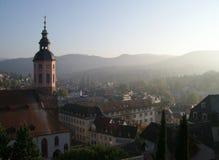 Baden Baden都市建筑学 库存照片