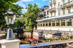 Baden-Baden, baden-Wurrtemberg, Γερμανία Στοκ Εικόνες