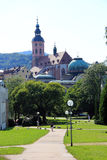 Baden-Baden in Germany. The spa town of Baden-Baden Royalty Free Stock Photos