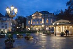 Baden-Baden i Tyskland Arkivbild